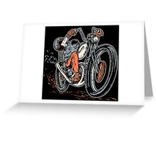 Chopper For Life Greeting Card