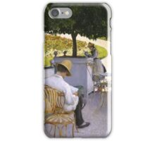 Gustave Caillebotte - The Orange Trees 1878 , Still Life iPhone Case/Skin
