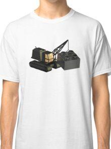 Lego Construction 3D Crane Classic T-Shirt
