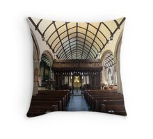 St Mary Magdalene Church, Launceston Throw Pillow
