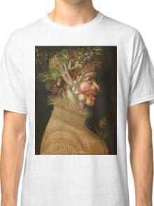 Giuseppe Arcimboldo - Summer 1563 , Fashion Portrait, Italian Handsome Man. Classic T-Shirt