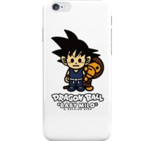 BAPE X Dragon Ball z and Baby Milo iPhone Case/Skin