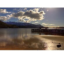 Sunshine Jetty on Loch Morar Photographic Print