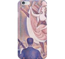 Georges Seurat  - Le Chahut 1889 - 1890 iPhone Case/Skin