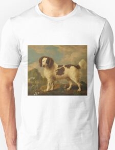 George Stubbs - Brown and White Norfolk or Water Spaniel 1778 Unisex T-Shirt