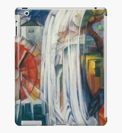 Franz Marc - The Bewitched Mill 1913  Landscape  iPad Case/Skin