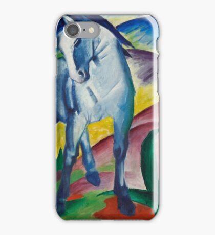 Franz Marc - Blue Horse  1911 German Expressionism.  Blue Horse . Franz Marc iPhone Case/Skin