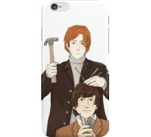 Nails into your head iPhone Case/Skin