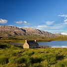 Abandoned Highland Scotland Croft House by derekbeattie