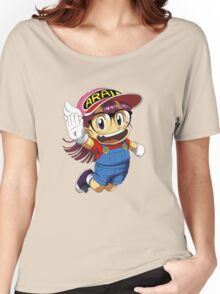 Arale Jump Women's Relaxed Fit T-Shirt