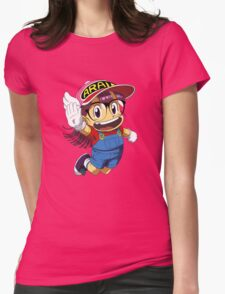 Arale Jump Womens Fitted T-Shirt