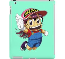 Arale Jump iPad Case/Skin
