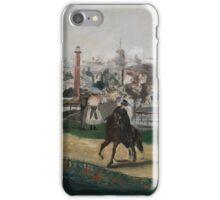 Edouard Manet - Fra Verdensutstillingen i Paris , French Impressionism , Landscape iPhone Case/Skin