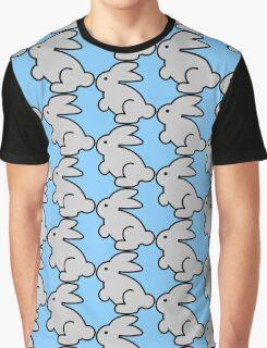 Cute Aodrable Bunny Rabbit Graphic T-Shirt