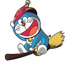 Magic Doraemon Photographic Print
