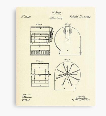 Cloth Frame-1864 Metal Print