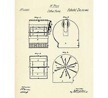 Cloth Frame-1864 Photographic Print