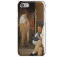 Ditlev Blunck - Danish artists at the Osteria La Gensola in Rome 1837  iPhone Case/Skin