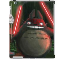 darth totoro iPad Case/Skin