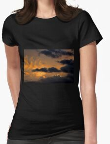 Cloud 20140708-80 Womens Fitted T-Shirt