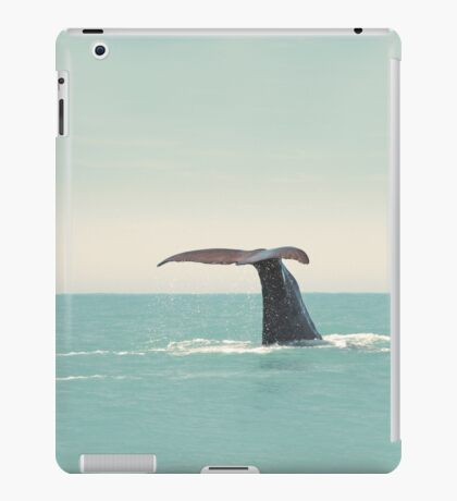 i'll cross the sea for a different world... iPad Case/Skin