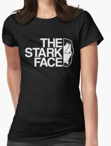 The Stark Face (V. Black) Womens Fitted T-Shirt