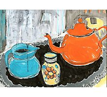 studio tea 1 Photographic Print