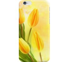 Tulips In Yellow iPhone Case/Skin
