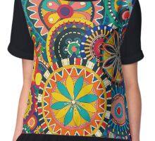 Colorful Mandala Chiffon Top