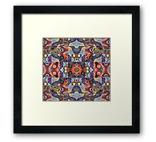 Colored puzzle Framed Print
