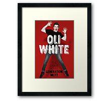 Oli White Generation Next Print Framed Print