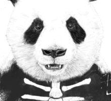 Zombie panda Sticker
