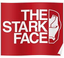 The Stark Face (V. Red) Poster