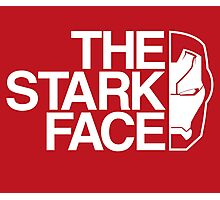 The Stark Face (V. Red) Photographic Print