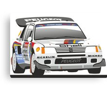 Peugeot 205 T16 Group B rally car Canvas Print