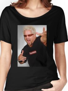 Guy Fieri x Supreme Women's Relaxed Fit T-Shirt