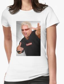 Guy Fieri x Supreme Womens Fitted T-Shirt