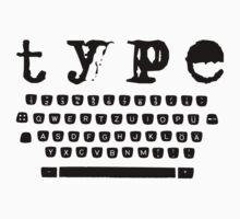Type black by Bernat Comes