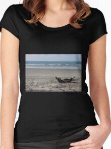 Carter Beach Women's Fitted Scoop T-Shirt