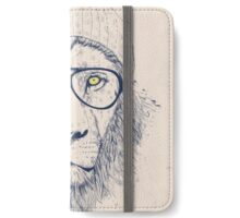 Cool lion iPhone Wallet/Case/Skin