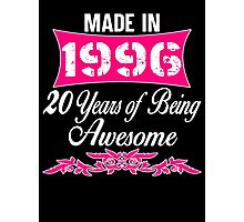 20 years of being Awesome-20th birthday Photographic Print