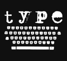 Type white by Bernat Comes