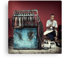 The Cobbler #1001 Canvas Print