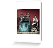 The Cobbler #1001 Greeting Card