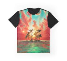Paradise island Graphic T-Shirt