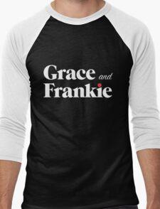 Grace and Frankie Men's Baseball ¾ T-Shirt