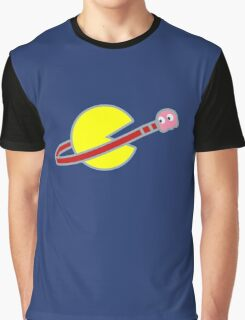 Lego Space Pac-Man (Pink Ghost) Graphic T-Shirt