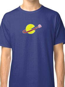Lego Space Pac-Man (Pink Ghost) Classic T-Shirt