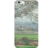 Camille Pissarro - Near Sydenham Hill 1871 iPhone Case/Skin