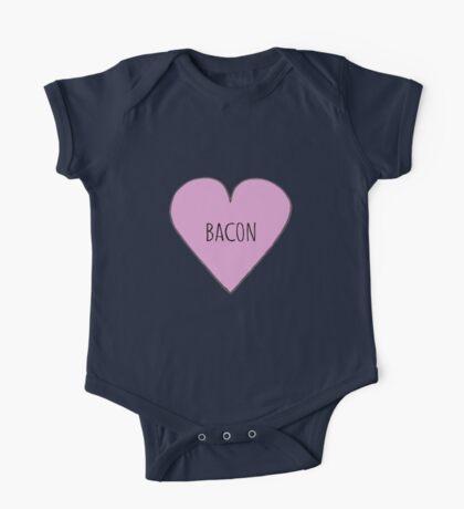 Bacon Love One Piece - Short Sleeve